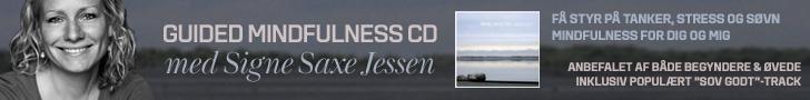 Mindfulness trænings cd med Signe Saxe Jessen, lyt og køb her